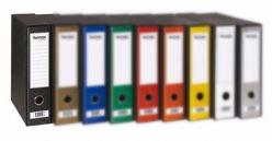 REGISTRATORE A4 8 CM IN SCATOLA PLASTIFICATO FORNAX PRESTIGE