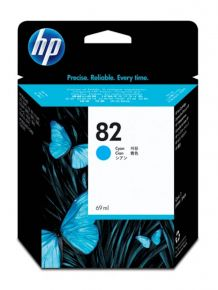 CARTUCCIA HP 82 CIANO DSJ 800/815/500/520 69ml - C4911A