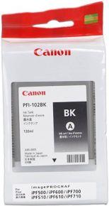 CARTUCCIA CANON PFI-102 NERO IPF500/600/700 130ml - 0895B001AA