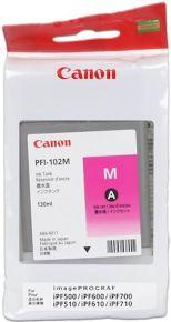 CARTUCCIA CANON PFI-102 MAGENTA IPF500/600/700/510/610/710 130ml - 0897B001AA