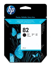 CARTUCCIA HP 82 NERO Designjet 510 69ml - CH565A