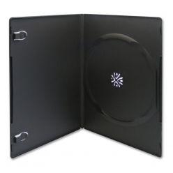 CUSTODIA DVD Slim SINGOLA 7 mm Nera Professionale Alta Qualità