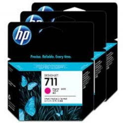 CARTUCCIA HP MAGENTA 711 DESIGNJET T520,T120 29ml ; 3 PACK - CZ135A
