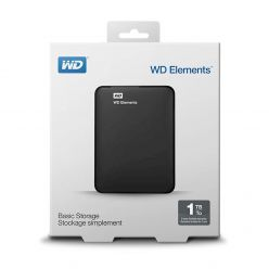 Portable Hard Drive 1TB WD Elements nero - WDBUZG0010BBK-WESN