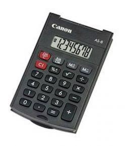 CALCOLATRICE CANON AS-8 - 4598B001AB