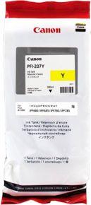 CARTUCCIA CANON PFI-207 GIALLO IPF 680/685/780/785 300 ML 8792B001AA
