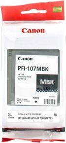 CARTUCCIA CANON PFI-107MBK NERO OPACO IPF670/670/770/780/785 130ml - 6704B001AA