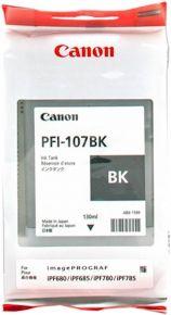 CARTUCCIA CANON PFI-107B NERO IPF670/670/770/780/785 130ml - 6705B001AA