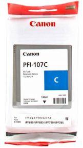 CARTUCCIA CANON PFI-107C CIANO IPF670/670/770/780/785 130ml - 6706B001AA