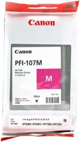 CARTUCCIA CANON PFI-107M MAGENTA IPF670/670/770/780/785 130ml - 6707B001AA