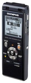 Il registratore OLYMPUS WS-853 di colore nero con un sacchetto - V415131BE000