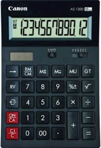 Calcolatrice CANON tavolo AS1200 senza stampa - 4599B001AB