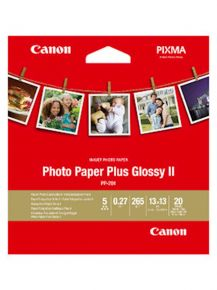 Carta CANON PP-201 SQUARE (13x13 cm); lucido / 265 gsm / 20 fogli - 2311B060AA