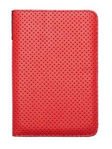 Coprire Pocketbook Dots, rosso / nero - PBPUC-623-OM-DT