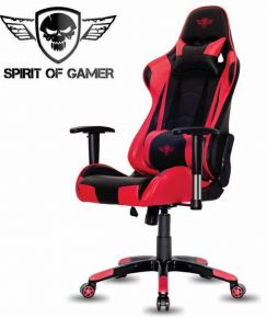 Sedie Gaming - Lo spirito del giocatore - demone rosso - SOG-GCDRE