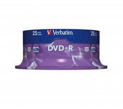 DVD+R VERBATIM 25PZ 43500