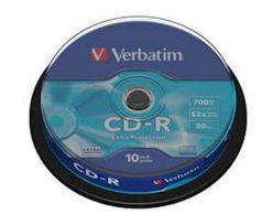 Supporto CD-R VERBATIM 10PK torta - 43.437