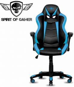 Sedie Gaming Spirito di gamer RACING nero e blu - SOG-GCRBL
