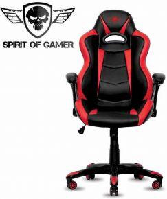 Sedie Gaming Spirito di gamer RACING nero e rosso - SOG-GCRRE