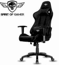 Sedie Gaming - Lo spirito del giocatore - demone nero - SOG-GCDBK