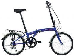 Bicicletta pieghevole DAHON SUV D6 blu opaco - 6065536S