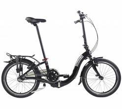 Bicicletta pieghevole DAHON Ciao i3, colore: nero - 6072023A