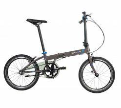 Bicicletta pieghevole colore DAHON Velocità Uno: marrone / grigio - 6075081S