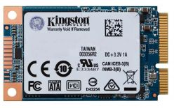 SSD KINGSTON mSATA 120GB UV500, SATA3.0, 520/320 MB/s, AES 256bit, 3D TLC NAND - SUV500MS/120G