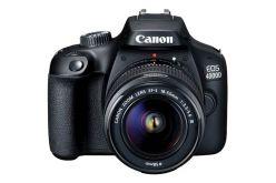 CAMERA CANON EOS4000D CON OBIETTIVO EF-S 18-55mm 1:3.5-5.6 III - 3011C018AA