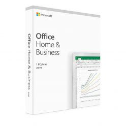 FPP Microsoft Office Home&Business 2019, PC/MAC, INGLESE - T5D-03216