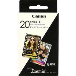 CARTA FOTOGRAFICA CANON ZINK 20 PZ ZOEMINI 3214C002AA