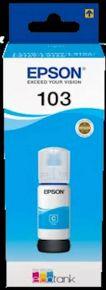 CARTUCCIA EPSON CIANO 103 BOTTIGLIETTA L1110, L3110, L3111, L3150, L3151 7.500 PAGINE 65 ML - C13T00S24A