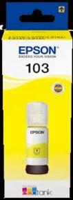 CARTUCCIA EPSON GIALLO 103 BOTTIGLIETTA L1110, L3110, L3111, L3150, L3151 7.500 PAGINE 65 ML - C13T00S44A