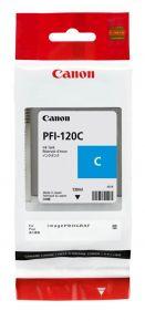 CARTUCCIA CANON PFI-120 CIANO TM200/205/300/305 130ml - 2886C001AA