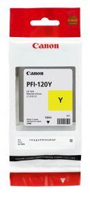CARTUCCIA CANON PFI-120 GIALLO TM200/205/300/305 130ml - 2888C001AA