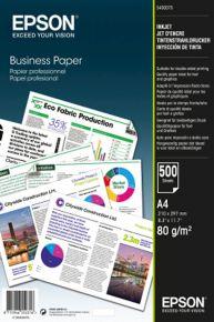 CARTA EPSON BUSINESS A4 INK JET - 500 FOGLI, 80 g / m2 - C13S450075