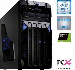 Desktop PC PCX ESAME i5-9400F / 8GB / 256GB SSD / HDD 1Tb / nv1650-4GB - PCX ESAME Gaming 4.0