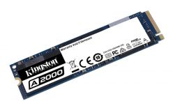 SSD Kingston M.2 PCIe NVMe 250GB A2000, 2000/1100 MB/s, PCIe Gen 3.0 x4 - SA2000M8/250G
