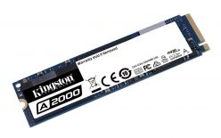 SSD Kingston M.2 PCIe NVMe 500GB A2000, 2200/2000 MB/s, PCIe Gen 3.0 x4 - SA2000M8/500G