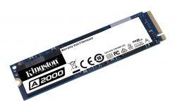 SSD Kingston M.2 PCIe NVMe 1TB A2000, 2200/2000 MB/s, PCIe Gen 3.0 x4 - SA2000M8/1000G