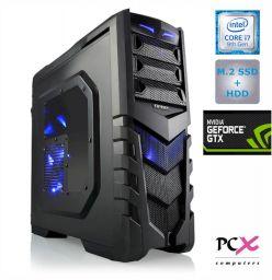DESKTOP PCX EXTIAN GXLED 5.2 i7-9700F/16GB/SSD 250GB/HDD 2TB/NV1660-6GB PCX EXTIAN GXLED 5.2