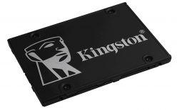 SSD KINGSTON 256GB KC600, 550/500 MB/S, SATA 3.0 6Gb/S 3D TLC SKC600/256G