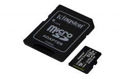 SDXC KINGSTON MICRO 512GB CANVAS SELECT Plus 100/85MB/s C10 UHS-I +ADATT. SDCS2/512GB