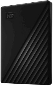 HDD WD MY PASSPORT® 1TB NERO, USB 3.0 (2.0), WD BACKUP™, WD SECURITY™,WD DRIVE UTILITIES™ WDBYVG0010BBK-WESN