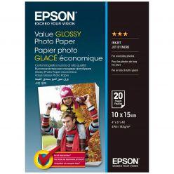 PAPIR EPSON FOTO GLOSSY 10x15CM 20 FOGLI 183G/M2 C13S400037