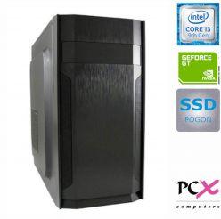 DESKTOP PCX EXAM i3-9100F/8GB/SSD 480GB/NV1030 2GB PCX EXAM GAMING 1.39
