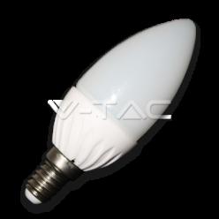 LAMPADINA LED V-Tac E14 4W=30W CANDELA VT-1818