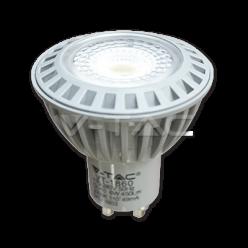LAMPADINA LED V-TAC 6W=50W  FARETTO SPOTLIGHT GU10 PREMIUM GRIGIO