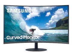 """Monitor Samsung C27T550FDRXEN 27"""", VA, CURVED, 16:9, 1920 x 1080, HDMI, DP"""