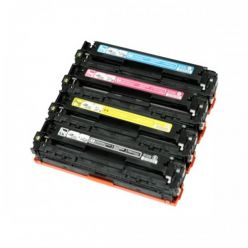 Toner compatibile 211A CF211A 131A CIANO HP Laserjet Pro 200 Color M251N M251NW M276N M276NW